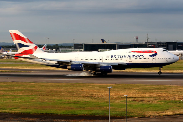 British Airways | Boeing 747-400 | G-CIVX | London Heathrow