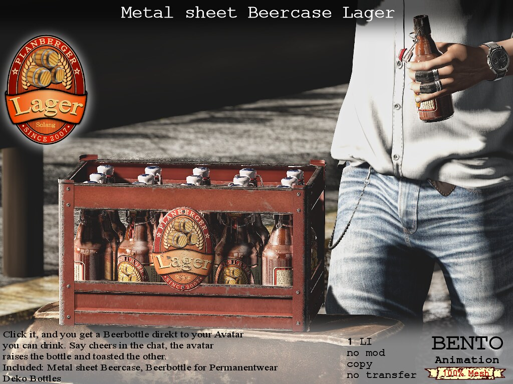 No59 Metalsheet Beercase Lager