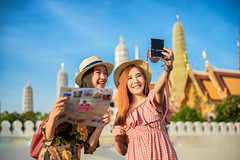 Travel in Bangkok, Thailand
