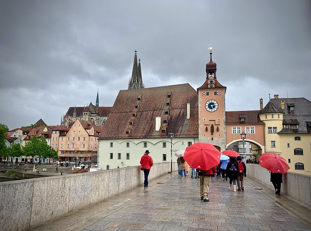 Toward the Old Town, Regensburg