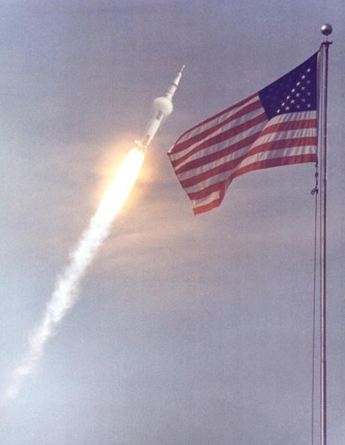 Apollo 11 Liftoff!