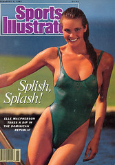 Elle Macpherson, Sports Illustrated, February 9, 1987, photograph by John G. Zimmerman