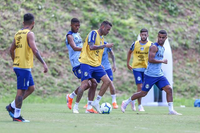 Treino Grêmio em Salvador 16/07/19