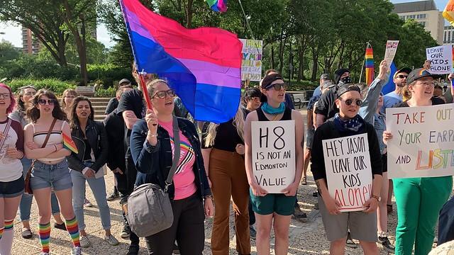 Bill H8 Protest