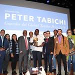 Jue, 02/08/2018 - 03:03 - Peter Tabichi en Colombia