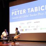 Jue, 02/08/2018 - 02:42 - Peter Tabichi en Colombia