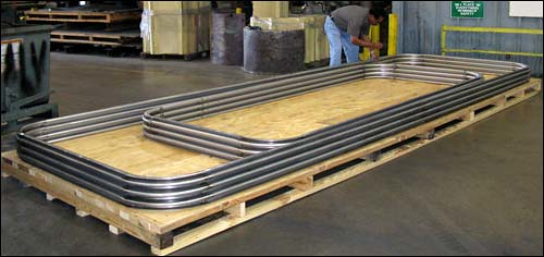 U.S. Bellows, Inc. Designed and Fabricated Rectangular Metal Bellows with Round Corners