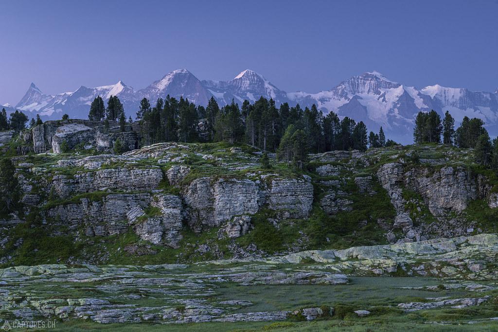 Eiger Mönch and Jungfrau - Seefeld