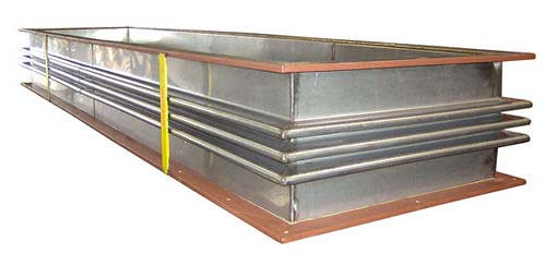 "U.S. Bellows, Inc. Designed and Fabricated an 84"" Long Rectangular Metallic Expansion Joint"