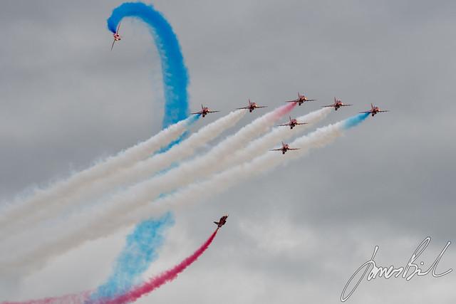 Red Arrows 'Tornado'