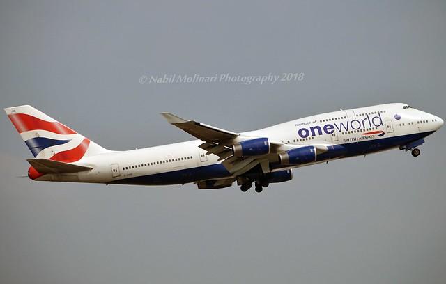 British Airways G-CIVD Boeing 747-436 cn/27349-1048 Painted in