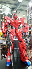 Custom Red Unicorn Gundam mega size