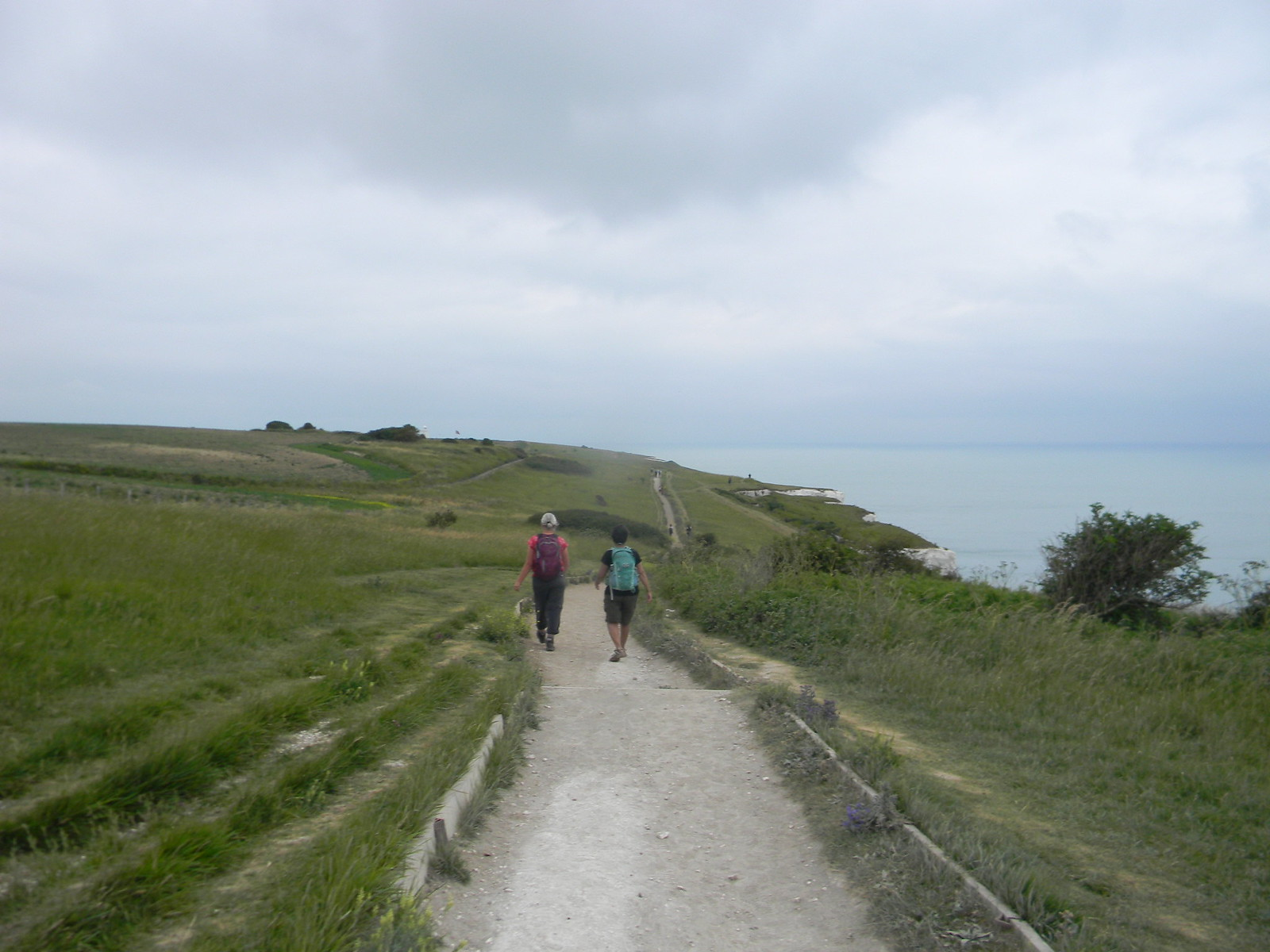 Along the cliffs Dover to Deal