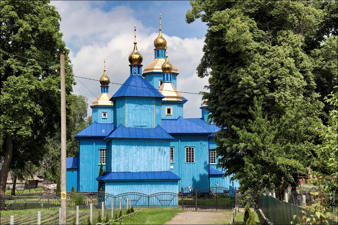 Велемичи, Беларусь, Церковь св. Ильи