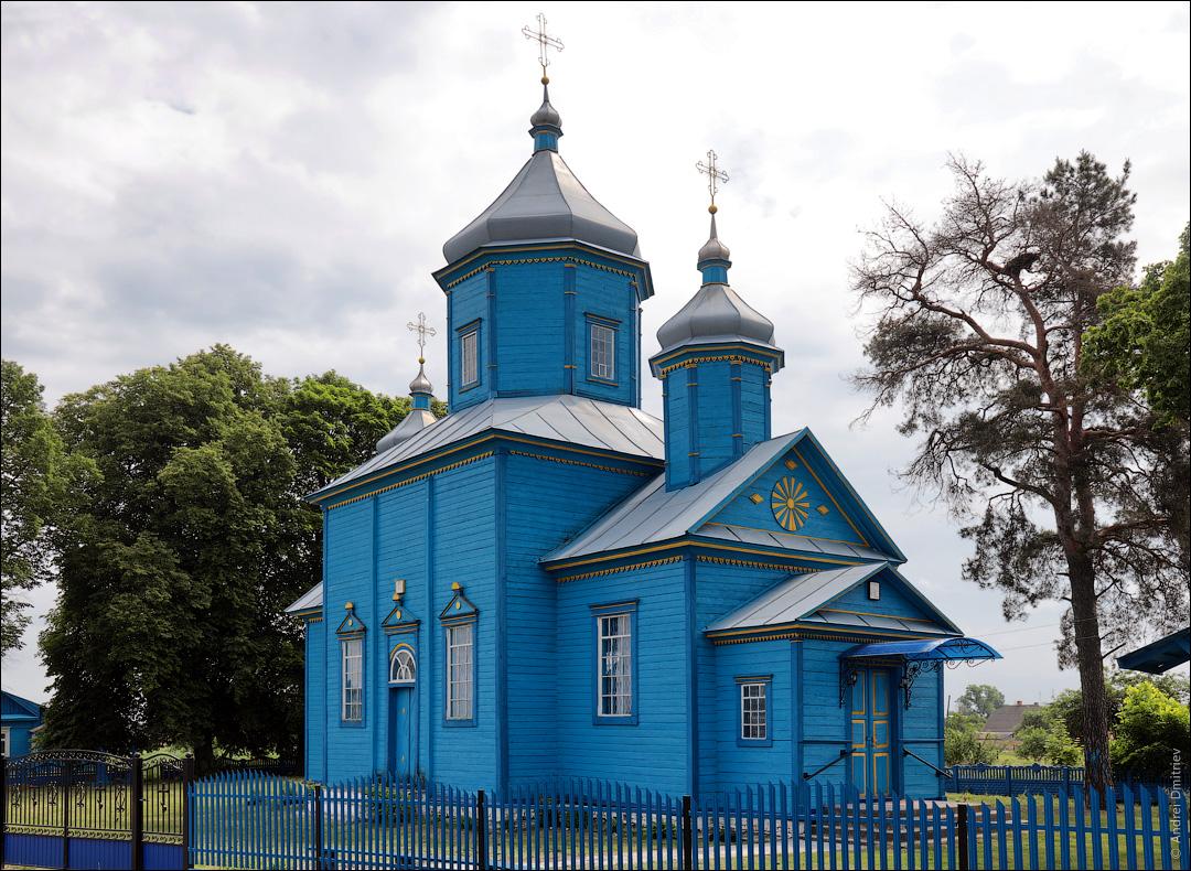 Ольпень, Беларусь, Церковь Успенская