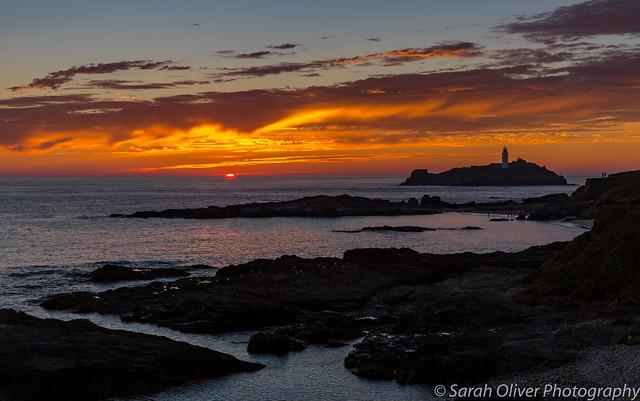 Watching a Cornish Sunset