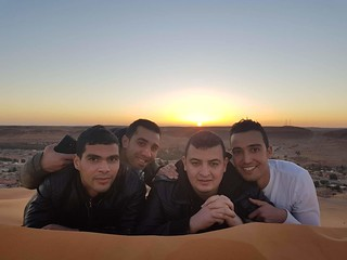 Sahara Taghit Bechar Algeria sunset ... RIP Messaoud