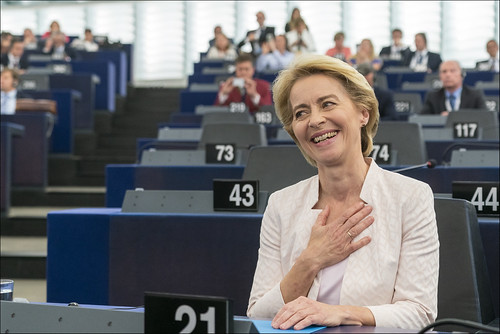 Parliament elects Ursula von der Leyen as first female Commission President | by European Parliament