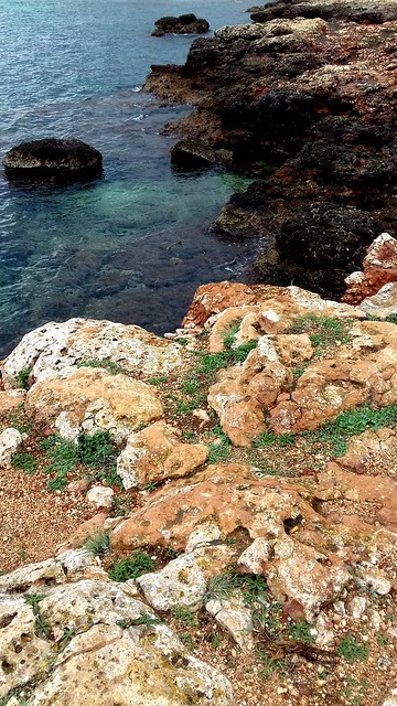 La côte rocheuse, Majorque.
