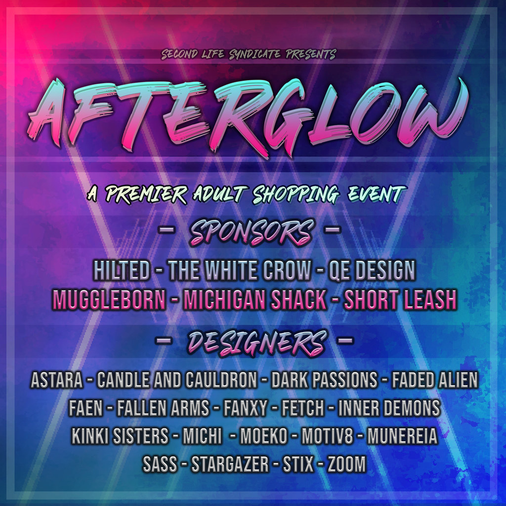 Afterglow July Round Poster - TeleportHub.com Live!