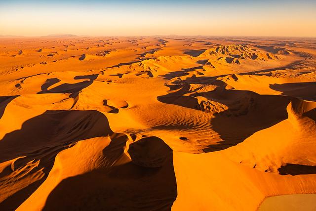 Flug über die Namib III - Flight over the Namib III