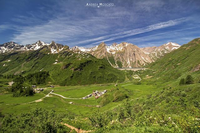 Riale e Diga di Morasco - Alta Val Formazza (Italy)