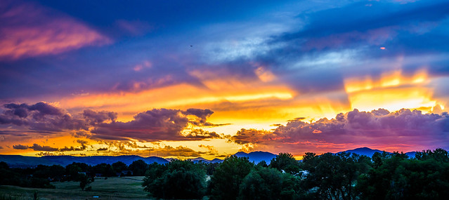 Master painter - Colorado sunset