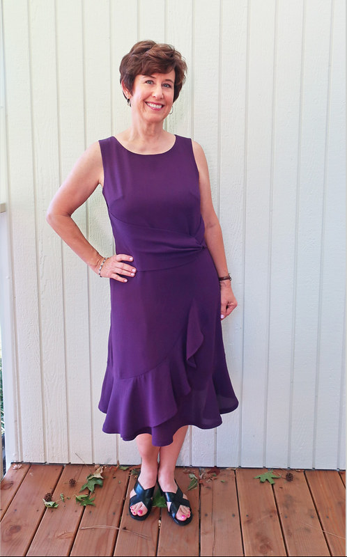 Purple dress sq4