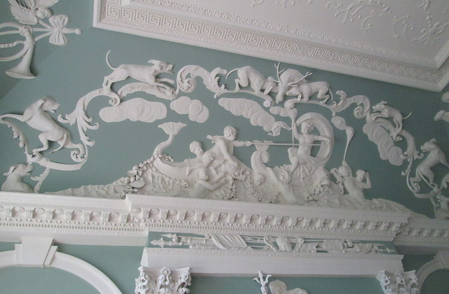 PLasterwork, House of Dun