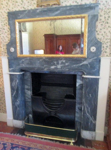 Mirrored Fireplace, House of Dun