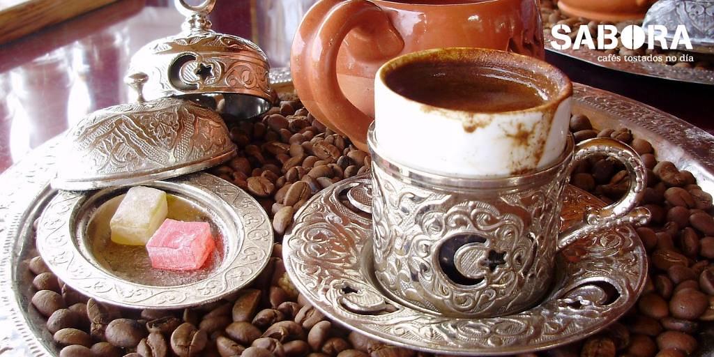Café al estilo turco