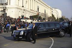 Barack Obama 's Cadillac