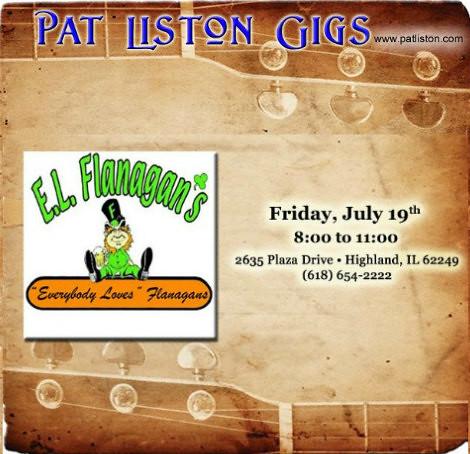 Pat Liston 7-19-19