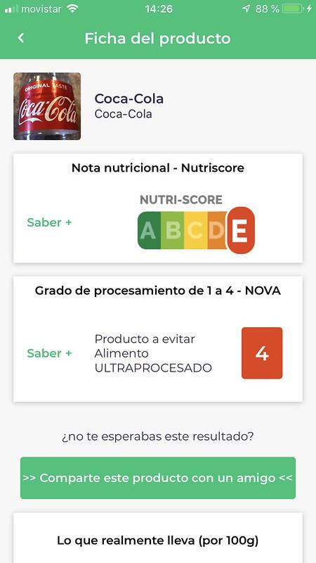 APP El Coco, de alimentos saludables