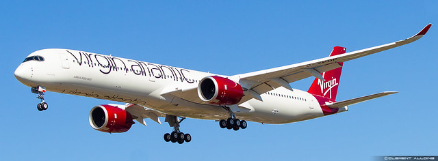 Virgin Atlantic Airways Airbus A350-1041 cn 298 F-WZNU // G-VPOP