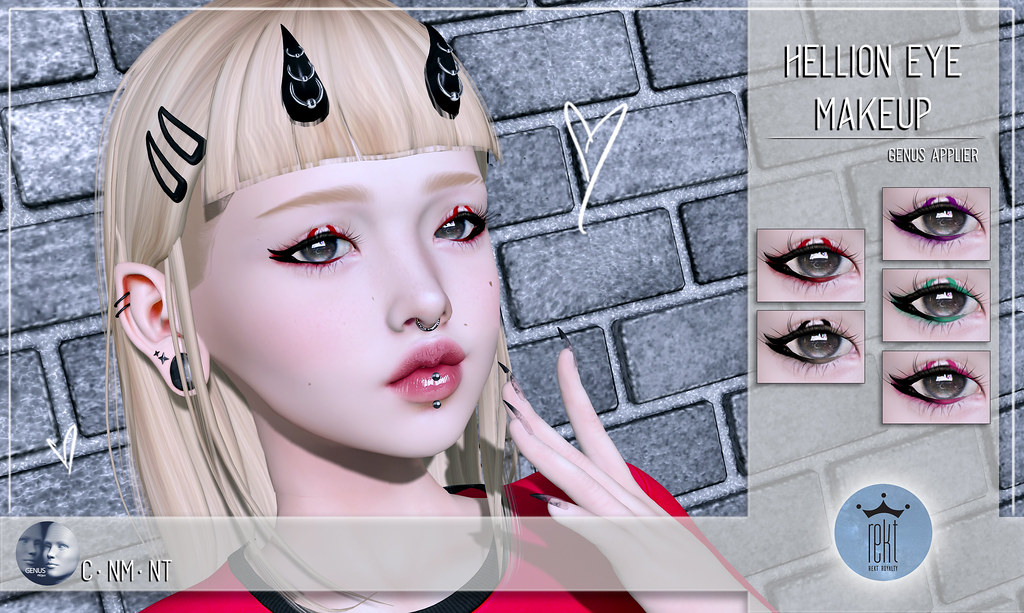 Rekt Royalty – Hellion Eye Makeup
