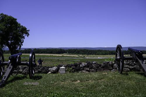 71st Pa.V Position on Cemetery Ridge