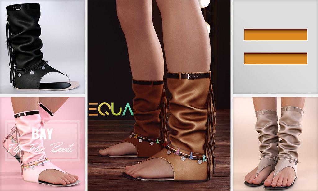 EQUAL – Bay Flip Flop Boots