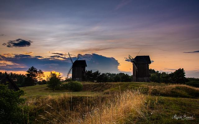 Summer evening in Moraczew