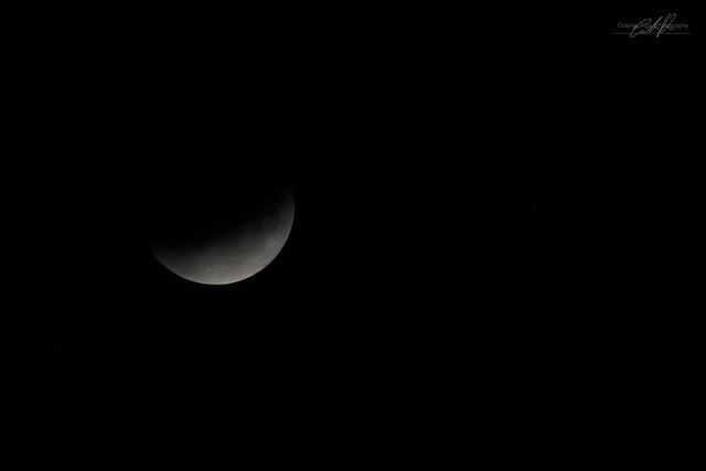 Eclissi lunare parziale 16 luglio 2019