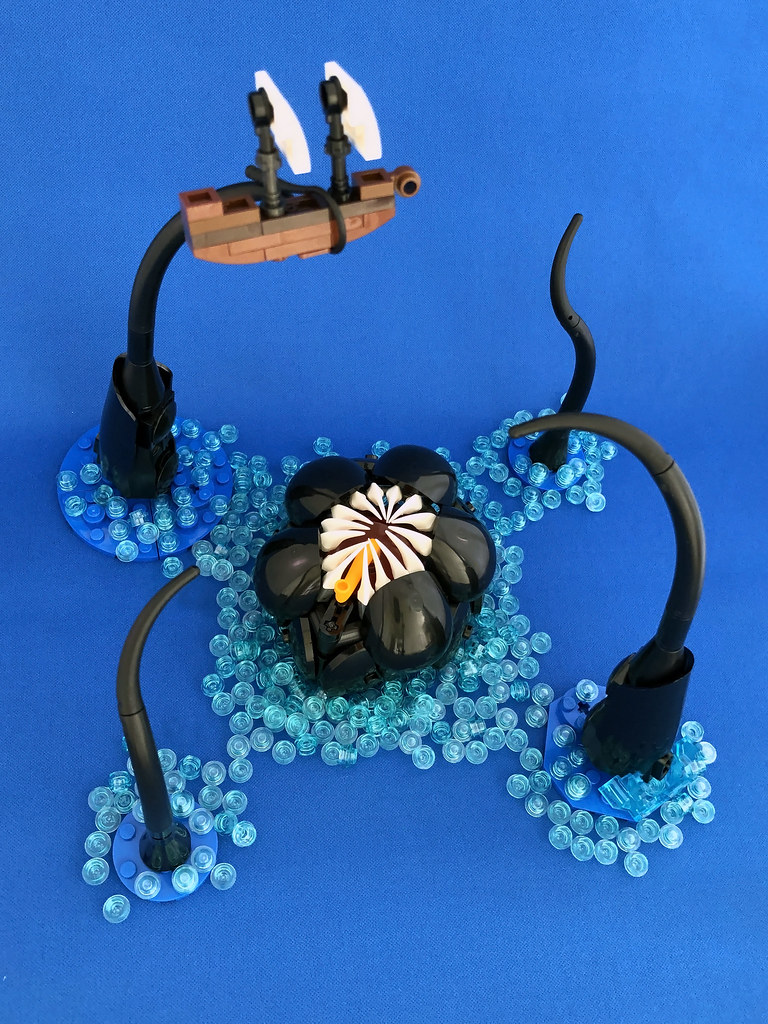 Charybdis the Maelstrom (custom built Lego model)