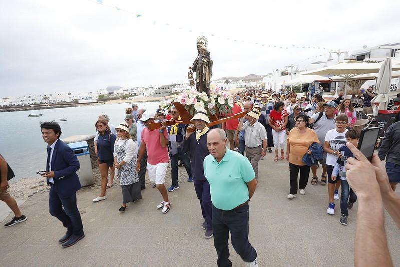 Procesión de Ntra. Sra. del Carmen en La Graciosa 2019