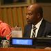 Tlohelang Aumane, Minister of Development Planning, Lesotho