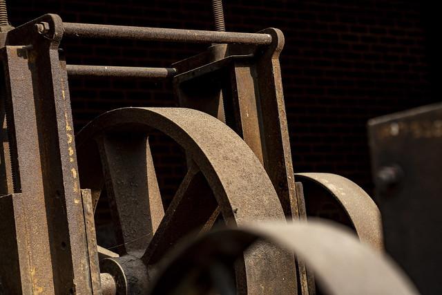 Wheels of industry.
