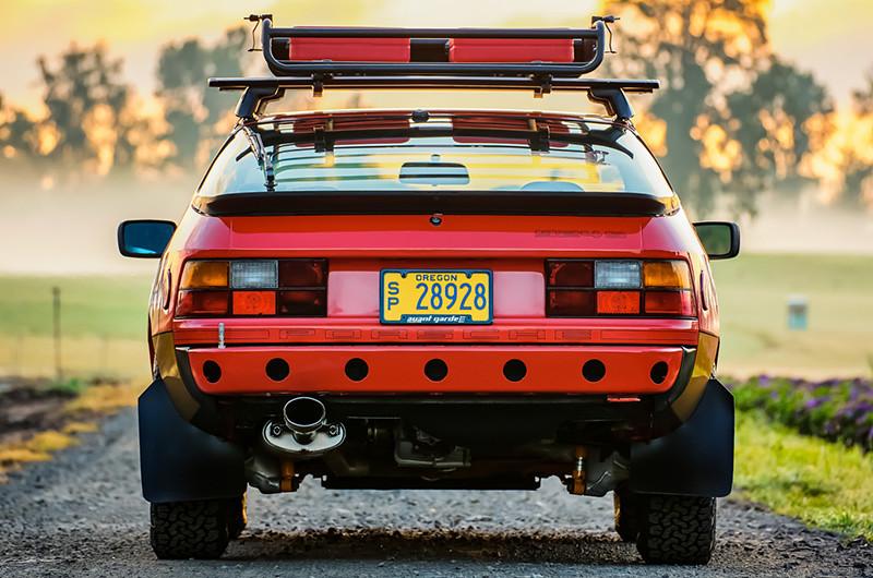Porsche 924S Safari