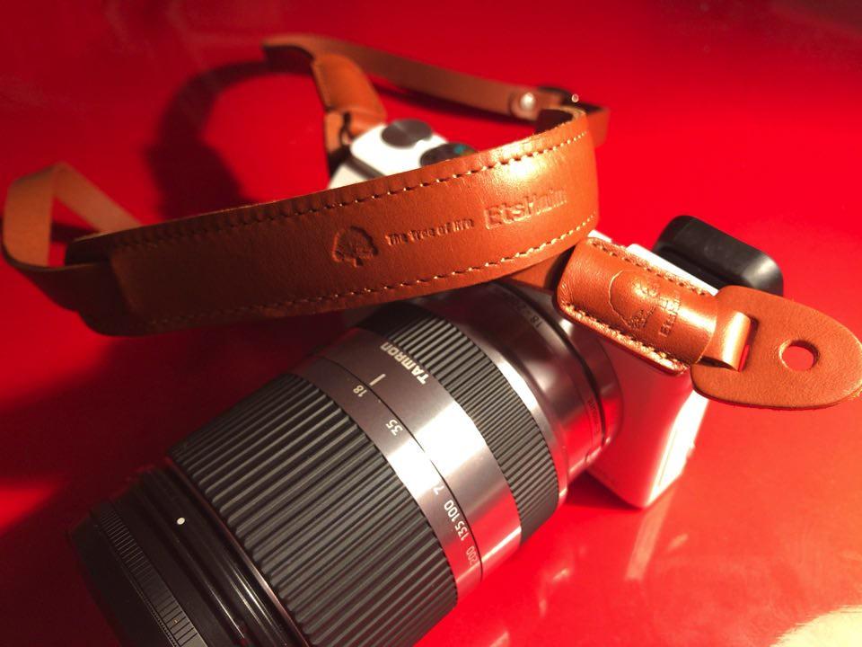 ストラップカメラ装着時2