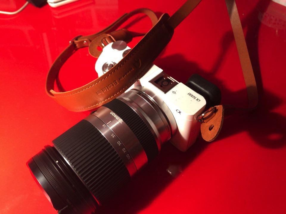 ストラップカメラ装着時1