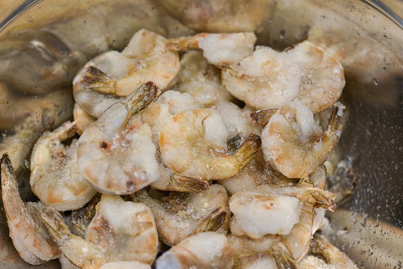 Mango-Habanero Shrimp