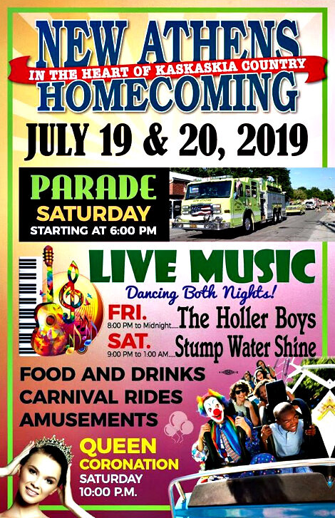 New Athens Homecoming 7-19, 7-20-19