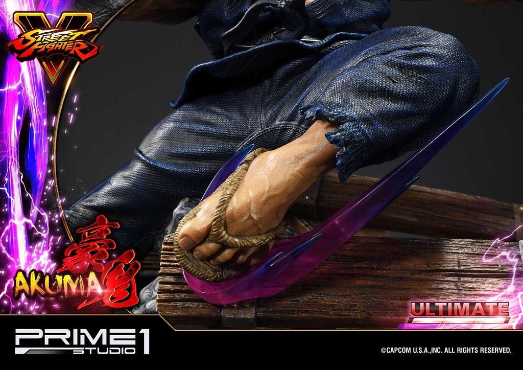 「斬空波動拳」再現!! Prime 1 Studio《快打旋風V》豪鬼 Akuma PMSFV-01 1/4 比例全身雕像作品 普通版/終極版